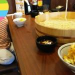 家族うどん!!!丸亀製麺(^^)(^^)(^^)(^^) 肩凝りヨガ