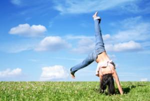人生が変わる!1日30秒、いや10秒からで良いです!メリットしかありません*\(^o^)/*逆立ちパワーでさらなる豊かな毎日を♡♡